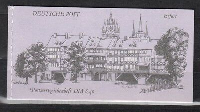 DDR, 1990 Markenheftchen 10 gestempelt, (25485)