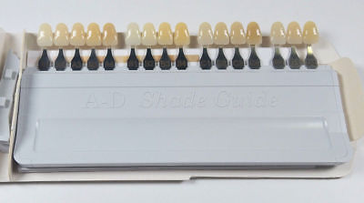 Ivoclar Vivadent Dental Shade Guide A-d 16 Color Porcelain Teeth Based On Vita