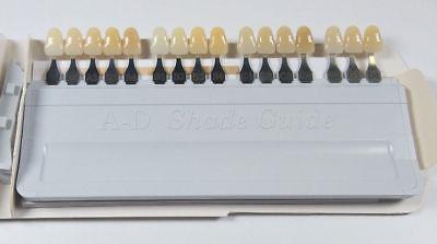 Ivoclar Vivadent Dental Shade Guide A-d 16 Color Porcelain Teeth Based On Vita