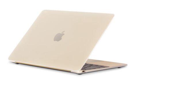 "Moshi iGlaze Hard Case for MacBook 12"" Retina Display Stealth Clear Genuine"
