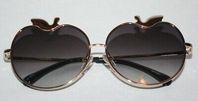 Markus Lupfer X Linda Farrow Apple Sunglasses Gold New in Box with (Markus Lupfer Clothing)
