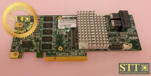 Aoc-s3108l-h8ir-16dd Supermicro Lp 12gb/s 8-port Sas/sata Raid Controller Card