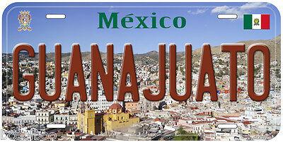 Guanajuato City Mexico Novelty Car License Plate P01](City Novelties)