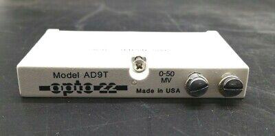 Opto 22 Ad9t Standard Voltage Input Module