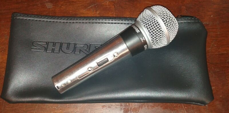 Shure 565SD Cardioid Dynamic Vocal Microphone with Shure zipper bag