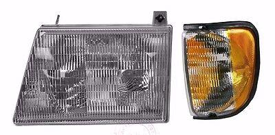 MONACO DIPLOMAT 2001 2002 2003 HEADLIGHT HEAD LIGHT LAMPS RV 2PCS - LEFT
