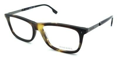 New Authentic Diesel Rx Eyeglasses Frames DL5199 055 53-15-145 Matte Havana