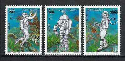 Somalia 2000 Mi#802-4  Divers  MNH Set $18.40