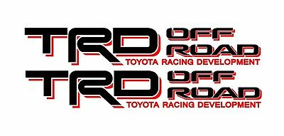 Toyota TRD Truck Off Road 4x4 Toyota Racing Tacoma Decal Vinyl Sticker