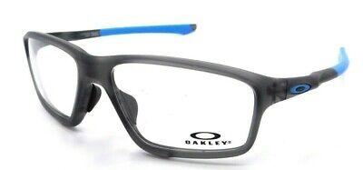 Oakley Rx Eyeglasses Frames OX8080-0158 58-16-138 Crosslink Zero A Grey Smoke