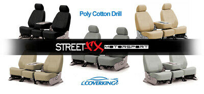 CoverKing PolyCotton Custom Seat Covers for 2004-2012 Cadillac SRX