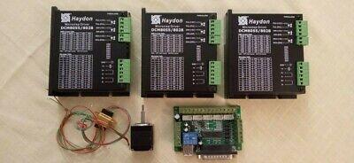 Haydon Microstep Driver Dcm80558028 Mach3 Interface Board Step-motor