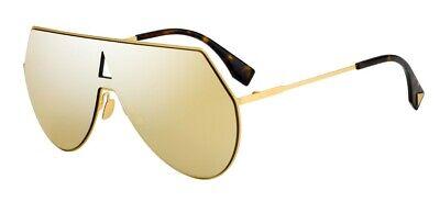 Fendi FF 0193/S EYESHINE 001/K1 99 New Women (Fendi Eyeshine Sunglasses)
