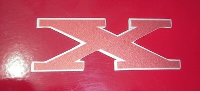 AMC X emblem badge decal Gremlin Hornet Pacer Concord Sportabout wagon for sale  Shipping to Canada
