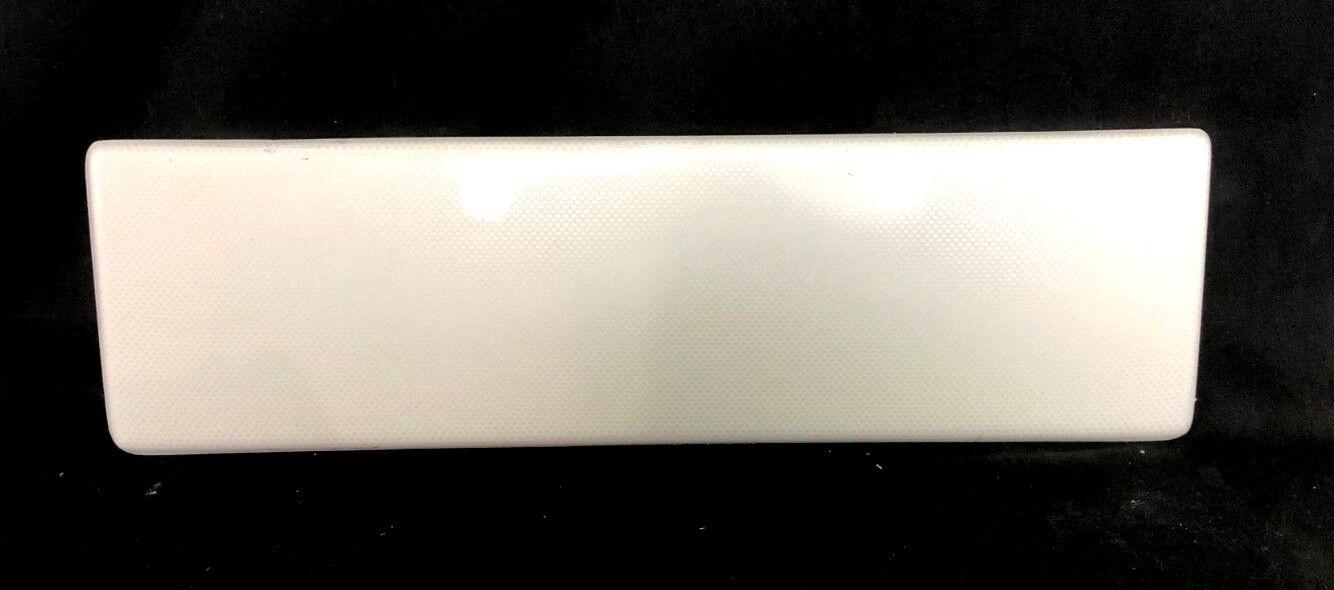 "Blank Acrylic White Carbon Fiber Look Gauge Dash / Console Panel 17 7/8"" x 5"""