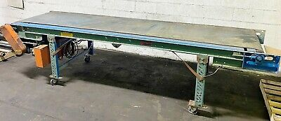 Roach 36 X 124 Powered Belt Conveyor