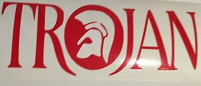 Trojan ,car decal/ sticker for windows, bumpers,panels or laptop