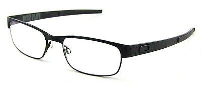 Oakley Metal Plate TITANIUM OX5038 22-198 RX Glasses Black Frames Sunglasses (Titanium Oakley Frames)