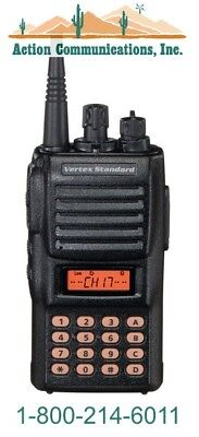 New Vertexstandard Vx-424a Ltr Vhf 134-174 Mhz 5 Watt 250 Ch Two Way Radio