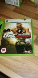 Xbox 360 Game UFC 2010!, good condition,