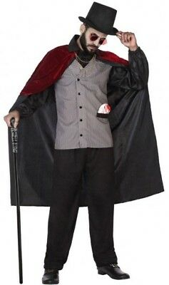 Déguisement Homme Comte VAMPIRE Dracula XL Halloween Film NEUF Pas cher