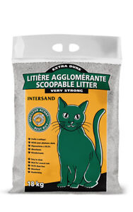 Extra Strong Green Cat Unscented Clumping Litter 18kg (40lbs)