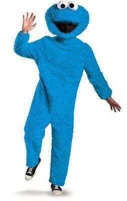 Prestige Full Plush Cookie Monster Costume Adult Sesame Street Halloween