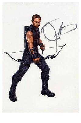 Jeremy Renner / Clint Barton / Hawkeye aus The Avengers - Autogrammfoto   (Hawkeye Aus Avengers)