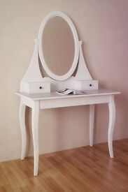 *As New* IKEA HEMNES Dressing table with mirror