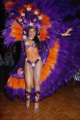 614098 Costume For Brazilian Carnival A4 Photo Print