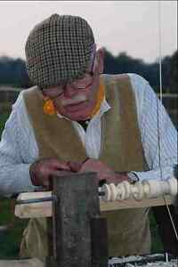 701021-Wood-Turner-Chalfont-St-Giles-Buckinghamshire-England-A4-Photo-Print