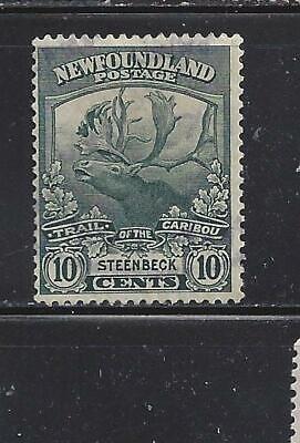 CANADA - NEWFOUNDLAND - 122 - USED - 1919 - CARIBOU