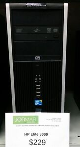 HP ELITE 8000 Desktop