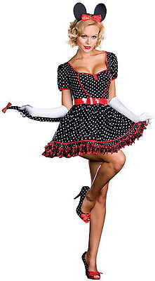 Dreamgirl USA 6396 Mousing Around Minnie Mouse Cosplay Halloween Costume L~Plus