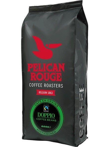 Fresh Pelican Rouge Doppio Premium Coffee Beans, 1kg Bags