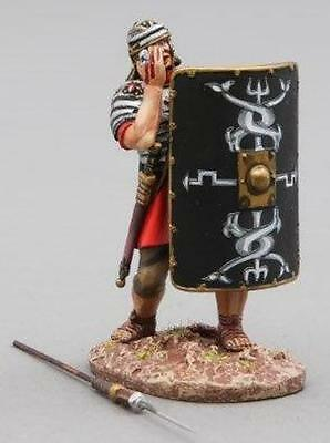 THOMAS GUNN ROMAN EMPIRE ROM010B 30TH LEGIONNAIRE BULLS EYE BLACK SHIELD MIB