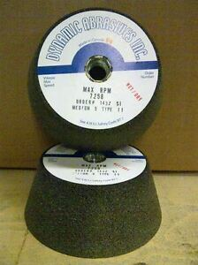 5'' Dia. Type 11 Silicon Carbide Grinding Wheel (Medium)