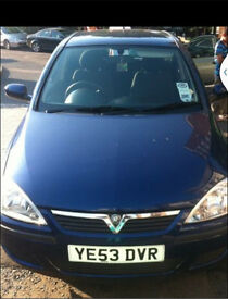 Vauxhall corsa 1.0 low mileage low insurance