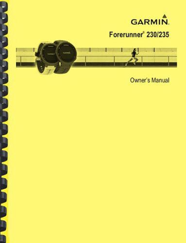 Garmin Forerunner 230 235 Watch OWNER