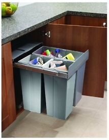 Innostor BIN19 Pull-out Base Mounted Kitchen Waste Bin for 600mm Unit