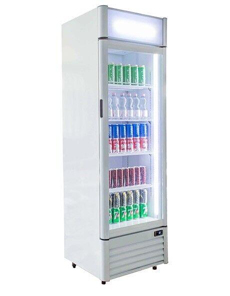 Blizzard Commercial Qr350 Upright Glass Door Drinks Fridge In