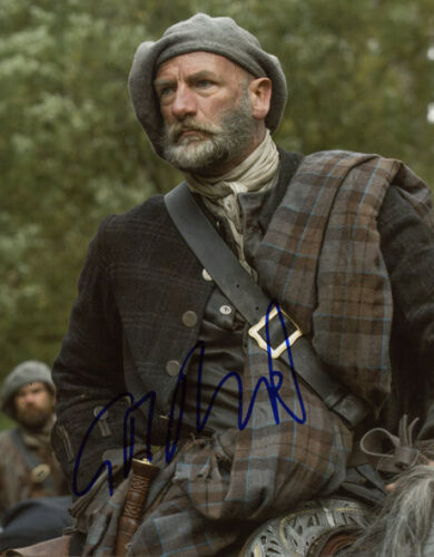 Graham McTavish signed autograph photo 8x10 inch COA Outlander