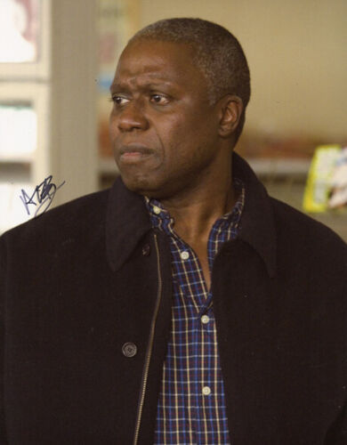 Andre Braugher signed autograph photo 8x10 in COA in-person Brooklyn nine nine 1