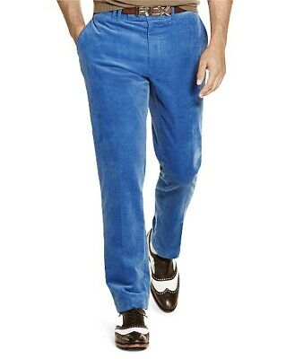 Polo Ralph Lauren Golf Range Fit Royal Blue Corduroy Pants Size 36 X 30 NWT $98