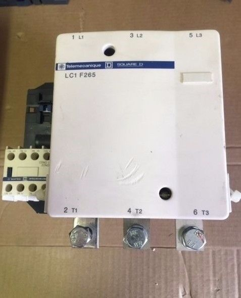 Telemecanique LC1 F265  LC1F265S121 Contactor