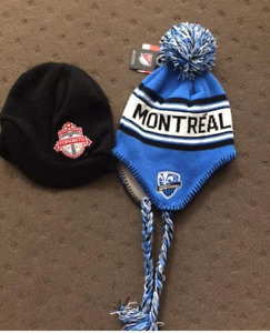TFC and Montreal FC toques - NEW