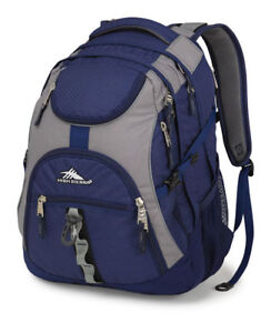 High Sierra Access Backpack- Navy Blue