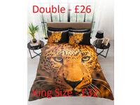 Leopard Duvet Set FROM £26
