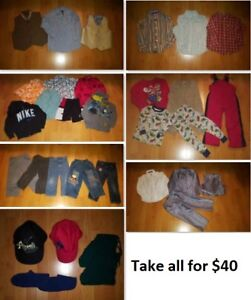 4T Boy Clothing Lot 3 (Take 31 Pieces for $40)