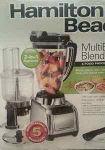 Hamilton Beach MultiBlend Blender and Food Processor - Brand New